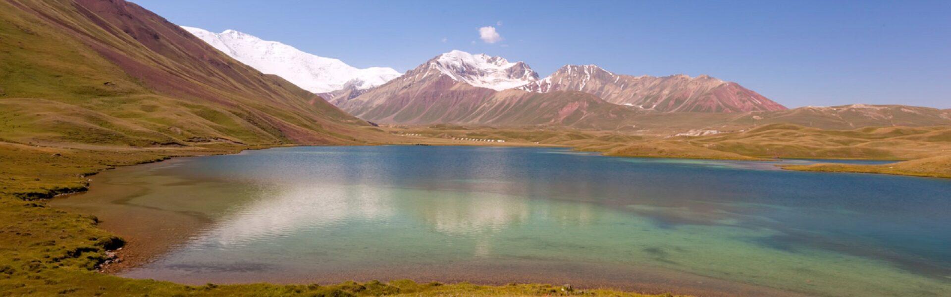 Randonnées thermales dans les montagnes du Kirghizistan - Lac Tolpur