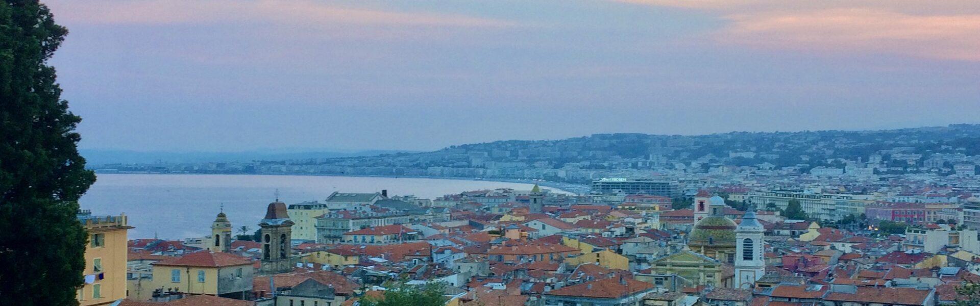 Nice et ses proches alentours - Panorama sur Nice